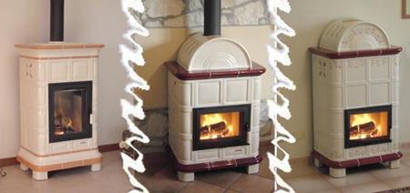 La fuente produce stufe a legna in maiolica con la continua ricerca di stile - Stufe piccole a legna ...